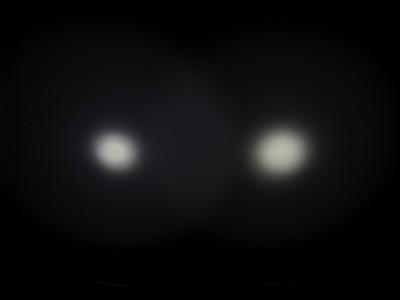 E09 vs. A3 High Li-ion 1/400th second