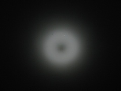 Donut hole at 1500mm 1/400th second (original)