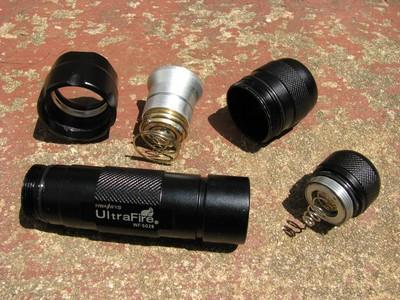 Ultrafire WF-502B parts