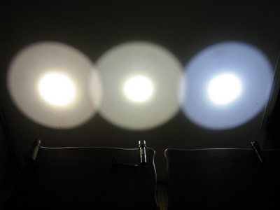 3 lights at 1/25th second